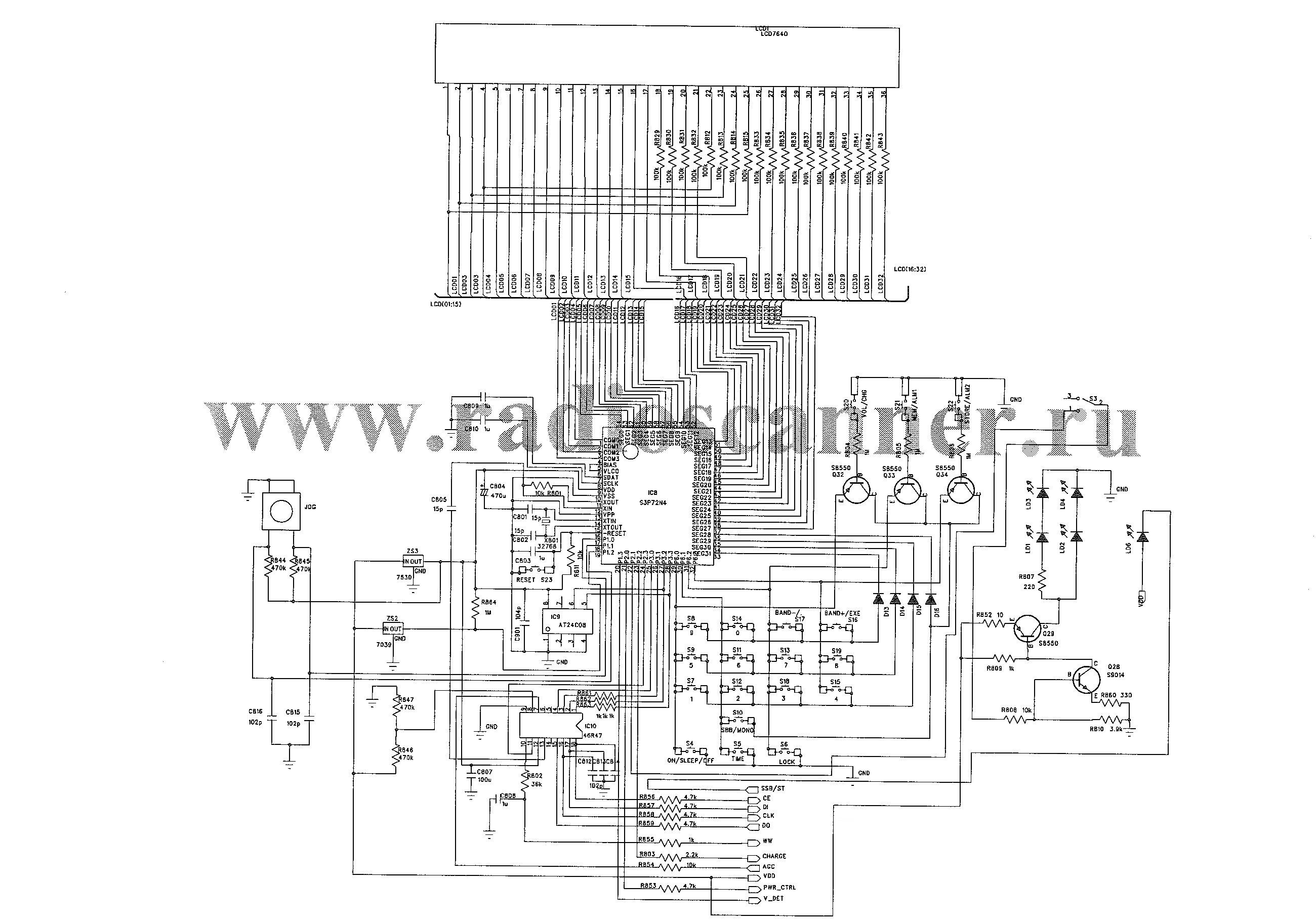 принципиальная схема радиолы вега 323