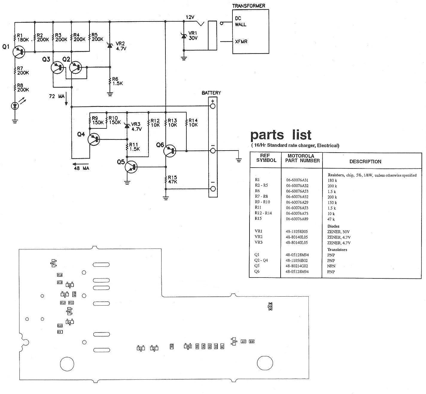 Схема зарядного для motorola фото 691