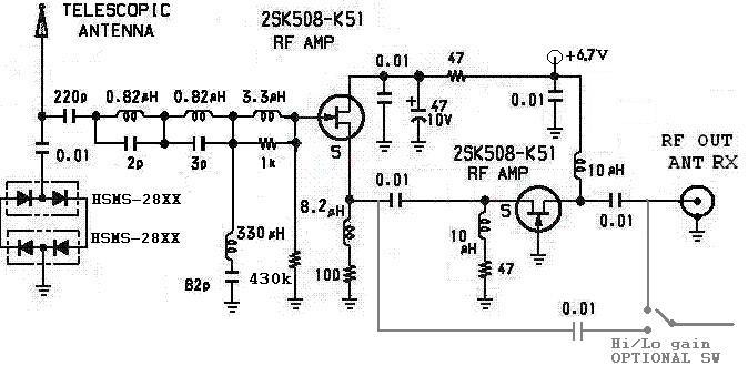 """Окончательный вариант.Принципиальная электрическая схема,с помощью которой SANGEAN ATS909-й легко  """"переступит """" DEGEN..."""