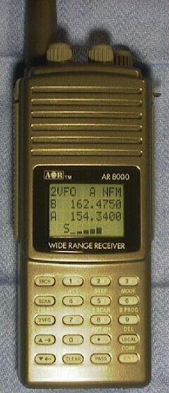 AOR AR8000 - общая схема.