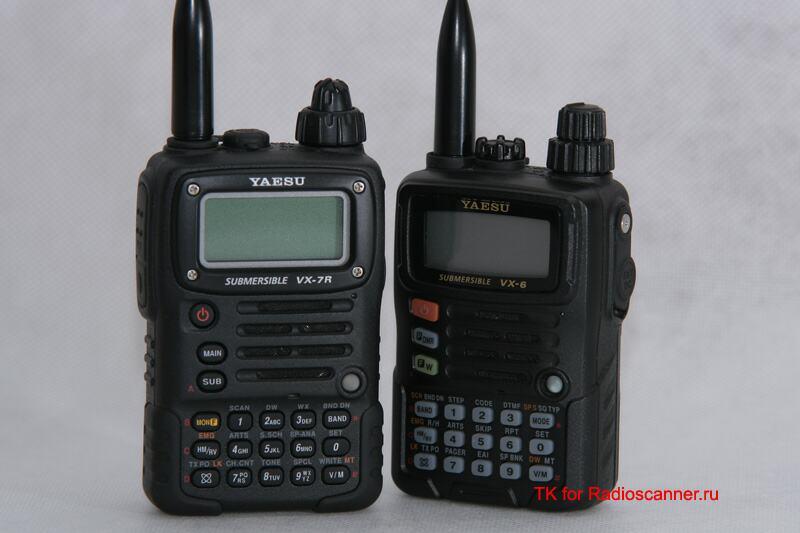 Отзыв о Yaesu VX-6R и VX-7R