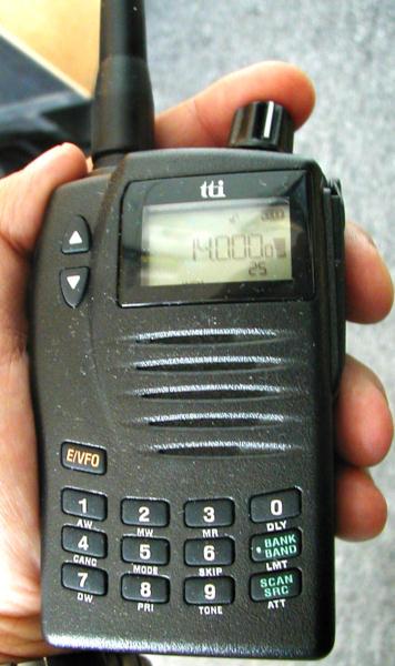 рация сканер ловит все частоты