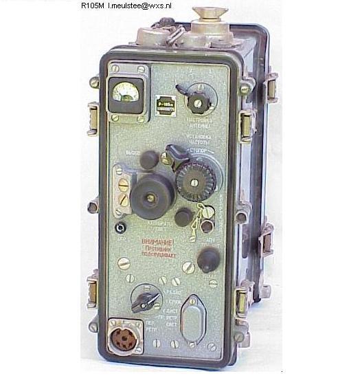Р-105М - Схема принципиальная.