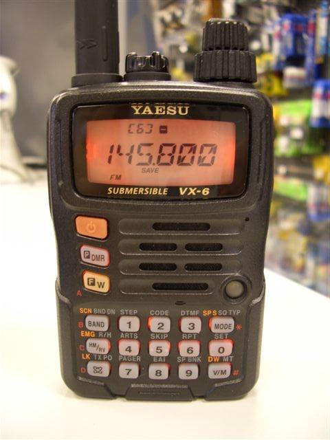 Yaesu Vx-6R Инструкция