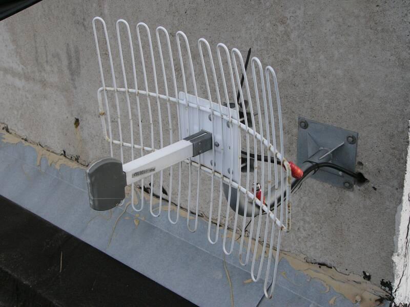 пример - антенна MMDS с