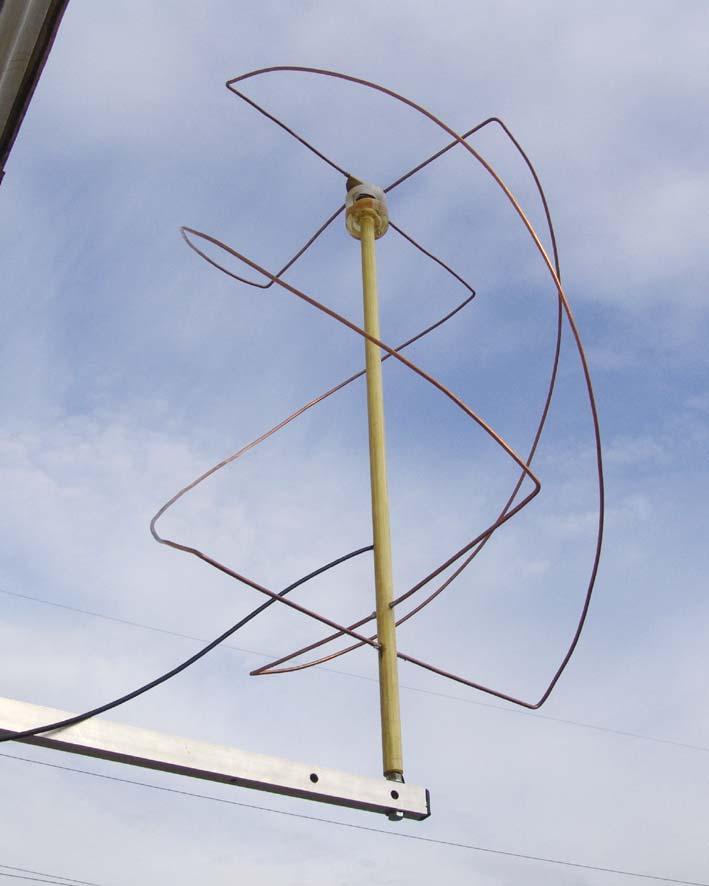Комнатная антенна из проволоки своими руками 62