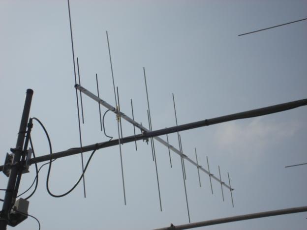 О антенна на 433 и 144 мгц