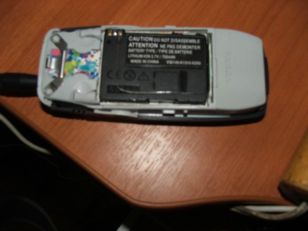 схема контроллера аккумулятора мобильного телефона