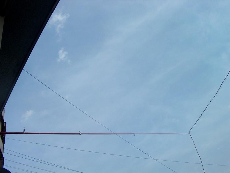 Простая балконная сиби антенна и уменьшение помех на сиби. -.