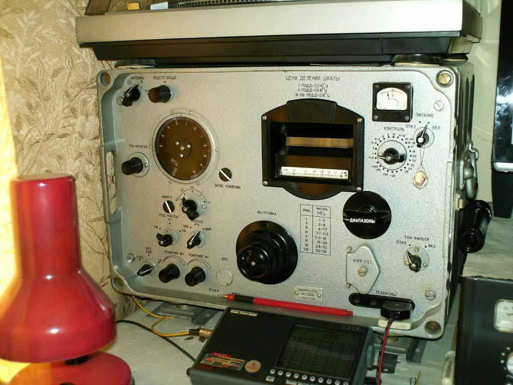 Технические характеристики приёмо-передающей аппаратуры связи