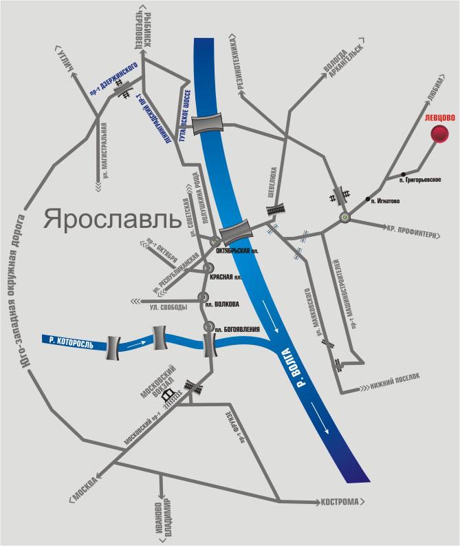 вокзала Ярославль-Главный