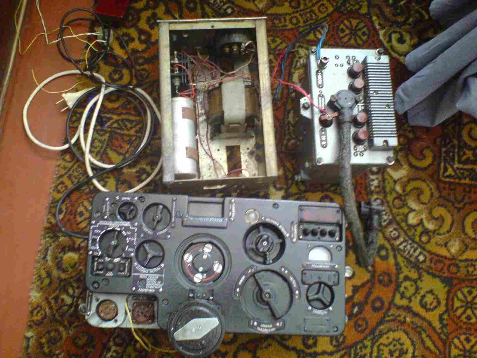 Схема радиостанции р 123м