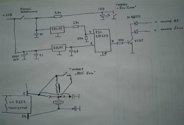 Программа микроконтроллера