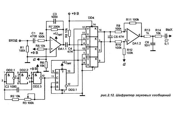 СКРЕМБЛЕР - Описание GSM и ее взлом. на двух спицах пинетки схемы.