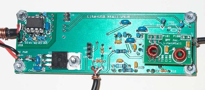 Улучшенный RTLSDR приемник RTLSDRCOM V3 купить с двумя
