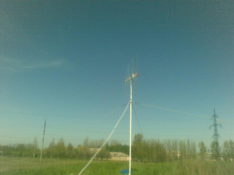 Двухдиапазонные антенны 144+430 МГц RZ9CJ