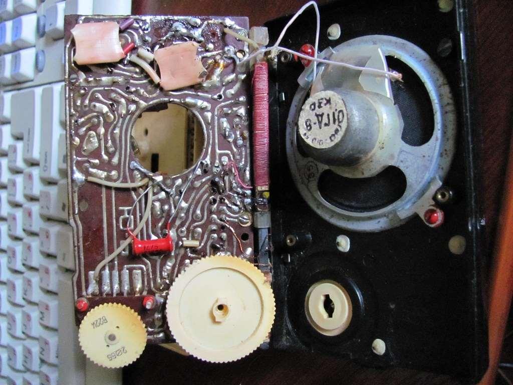схема радиоприемника нейва м
