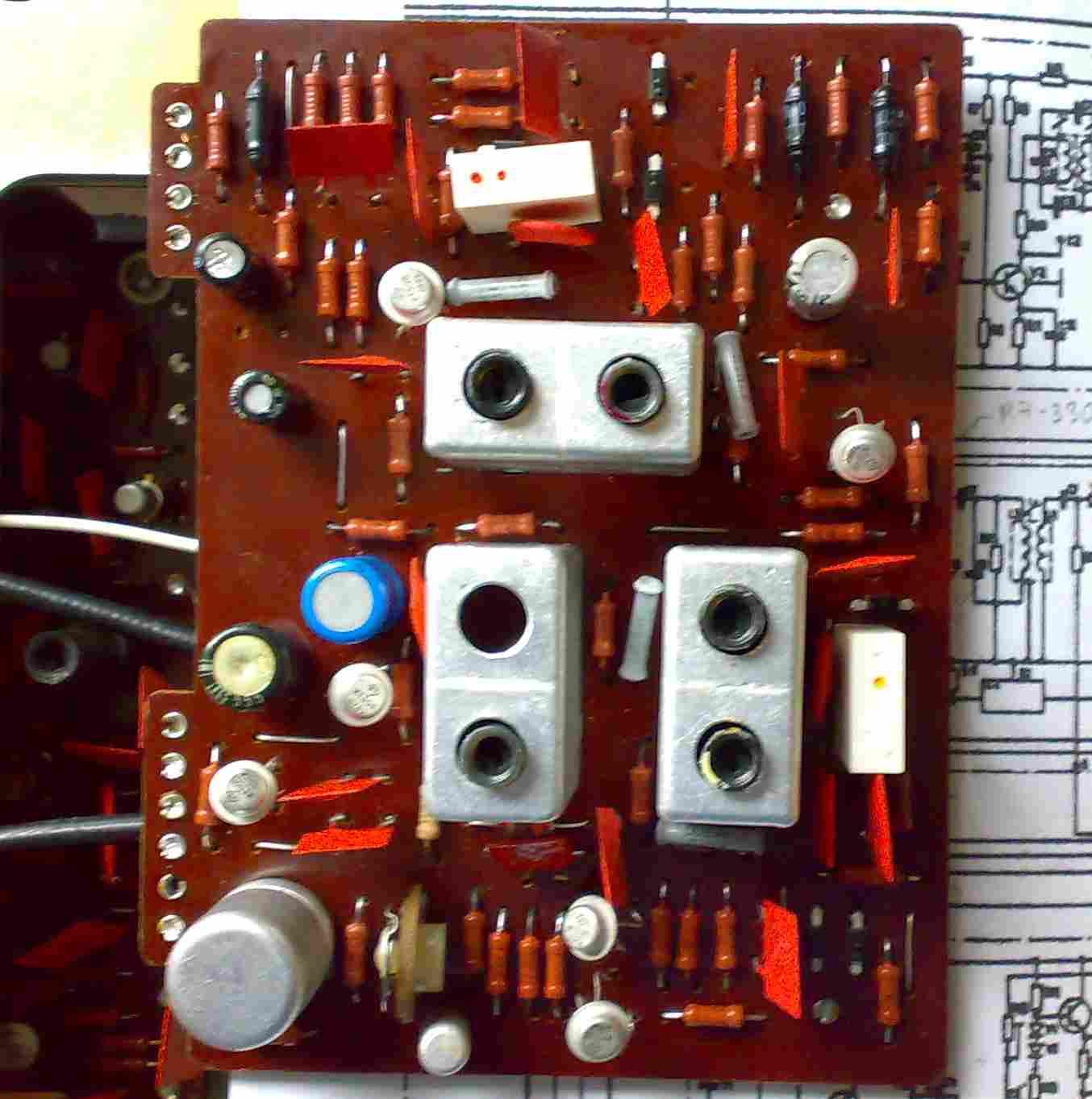 ишим 001 описание и схема радиоприемника