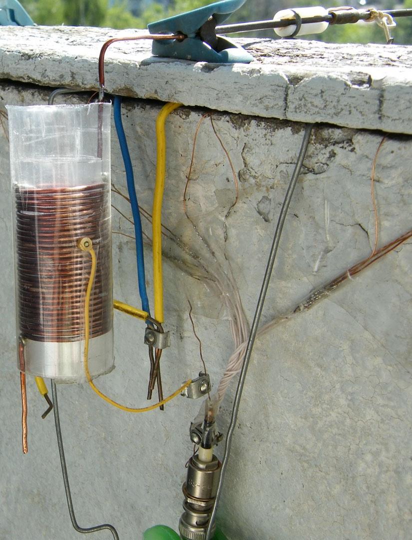 Как сделать на 14 мгц антенну на балконе