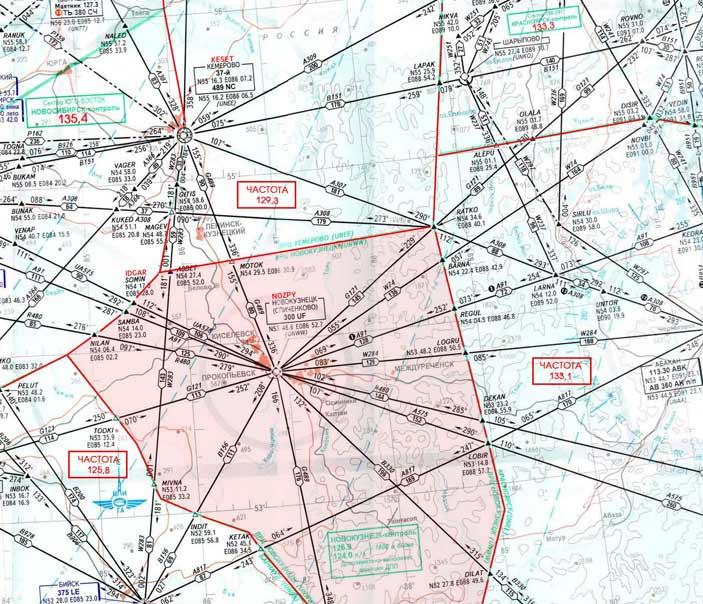 Старая карта РНК.