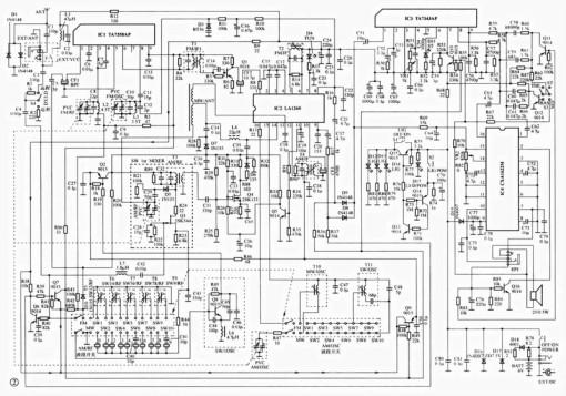 Радиоприемник в автомагнитоле схема