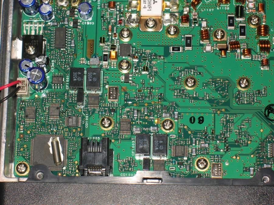 разобрал я свою FT-8800R,