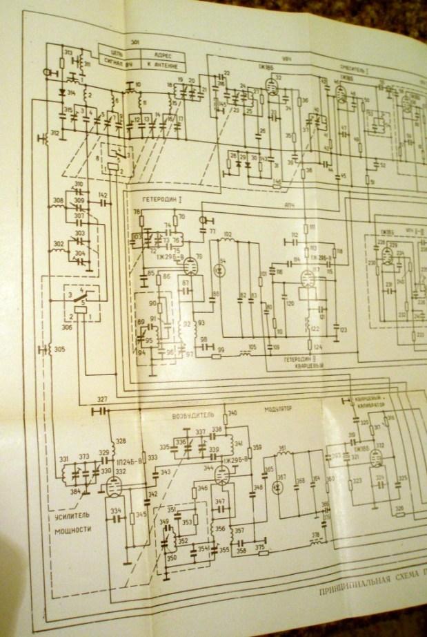 Вот схема дуплексера Р-407,