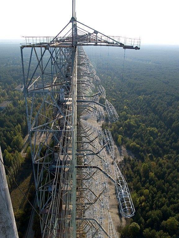 107/125 чернобыль-2 (антенны згрлс quot;дугаquot