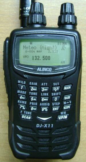 Alinco dj-x11 инструкция на русском