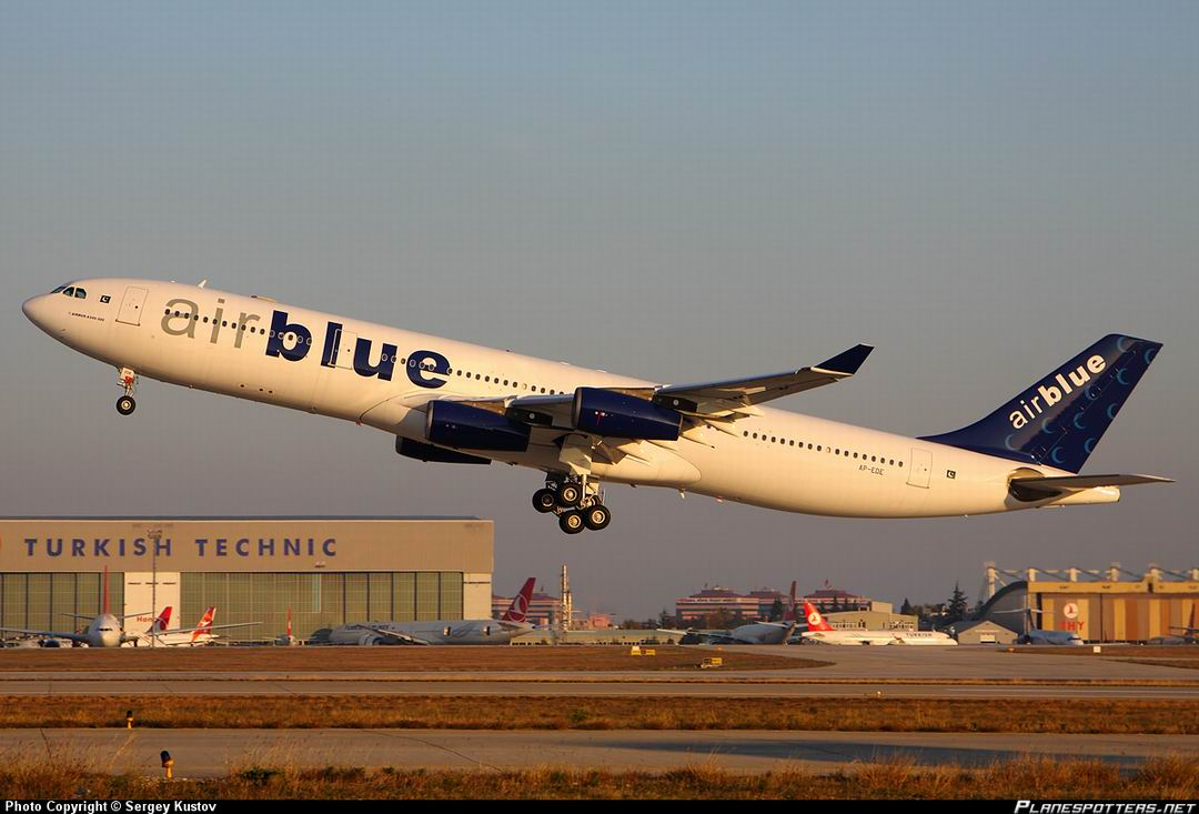 airblue is a private pakistani airline