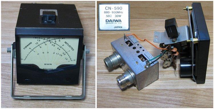 КСВ-метра Daiwa CN-590.