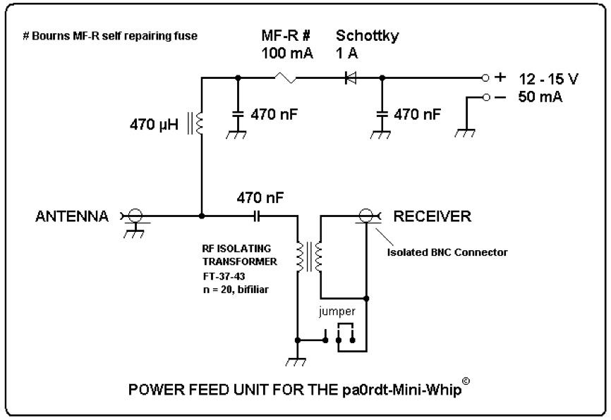 Mini-whip антенна схема
