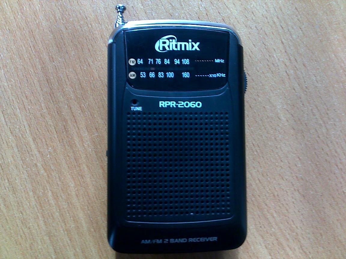 схема радиоприёмника без батареек