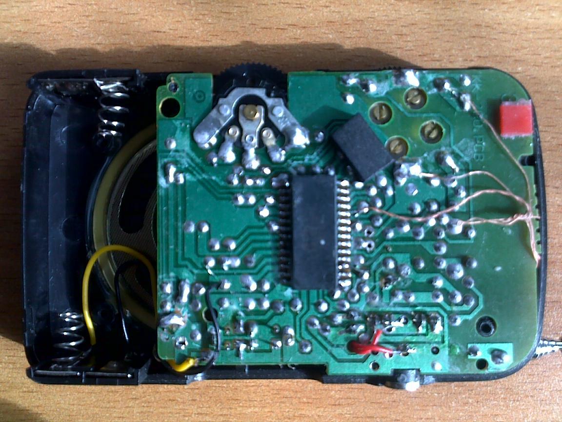 схема радиоприемника ritmix 7020