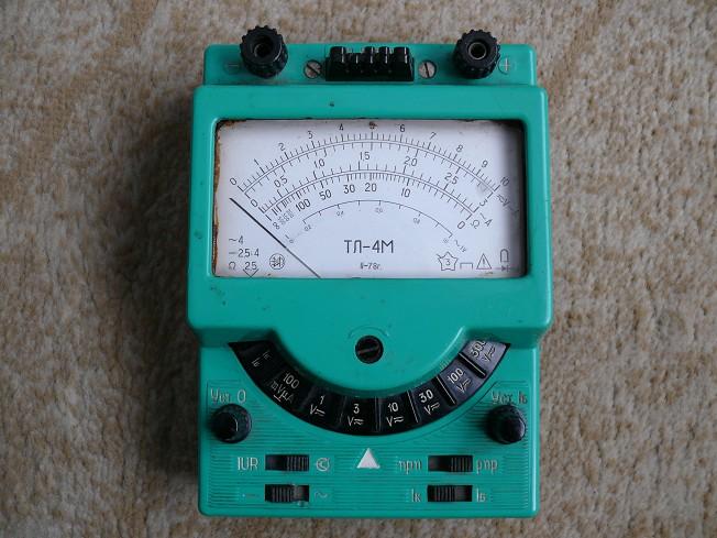 Инструкция Тестер Тл-4 img-1