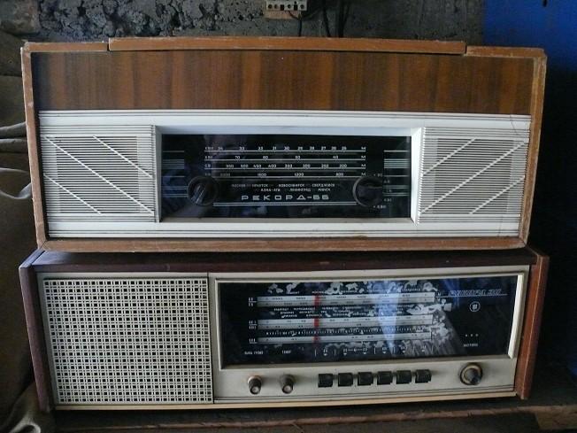 Урал-111 и VEF-Radio изрядно