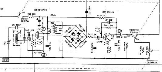 по схеме приемника DX-160.