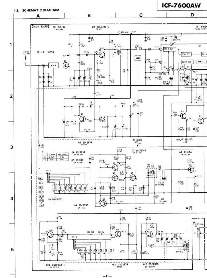 Схемы простройки контуров: