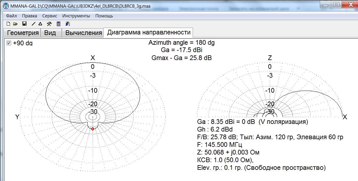 Антенна hb9cv 176