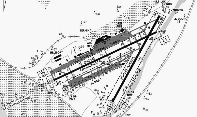 Катастрофа в Сочи Ту Министерства обороны Страница   имеющему две перекрещивающихся ВПП Контрольная точка и координаты местоположения на aД 43°26 40 n 039°56 49 e в середине прямой соединяющей центры