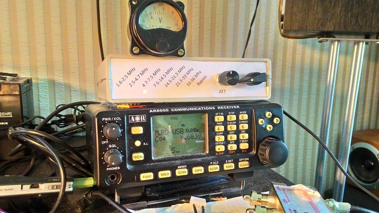 Широкополосный радиоприемник